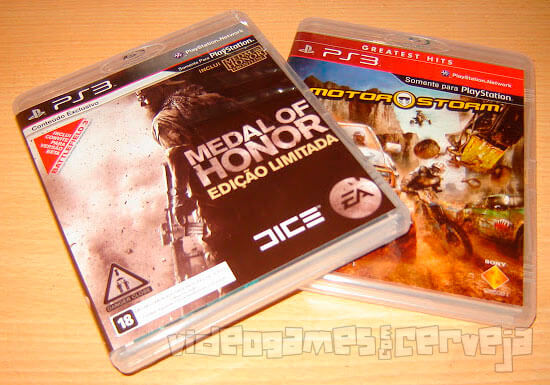 Medal of Honor e Motorstorm!