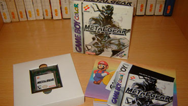 Aquisição - Metal Gear Solid (Game Boy Color) Cover