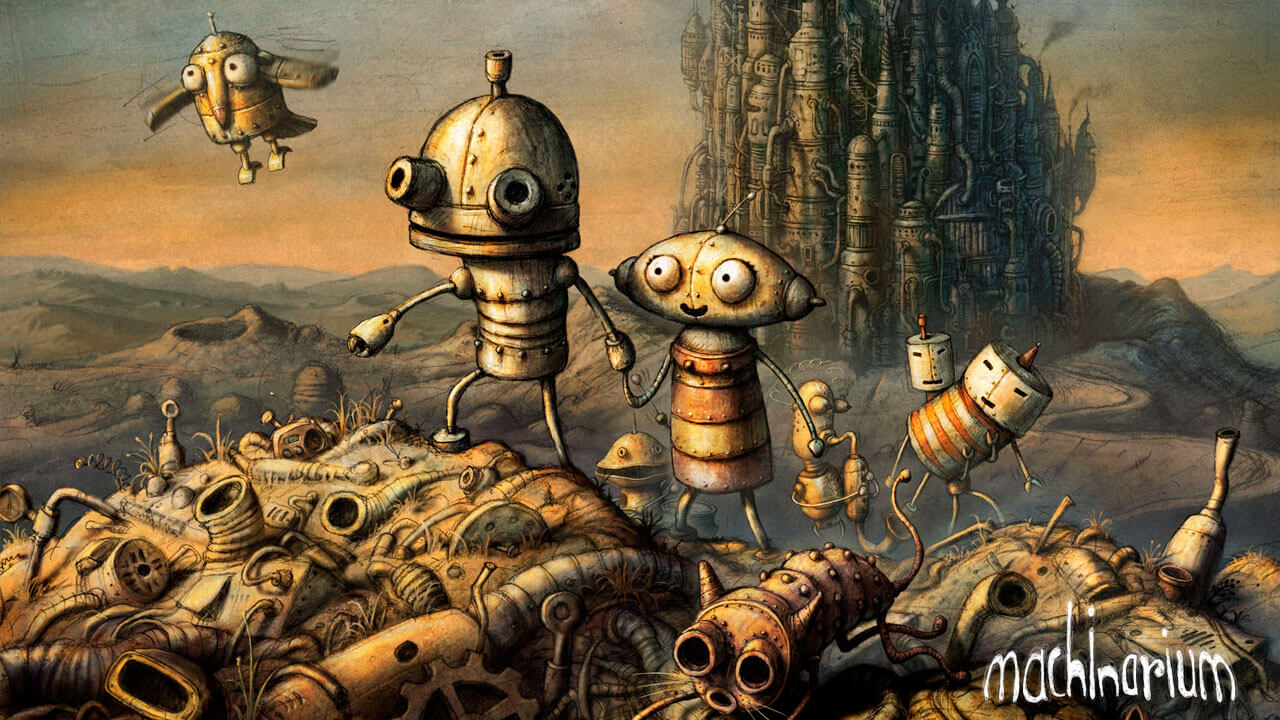 Análise - Machinarium (PS3) Cover