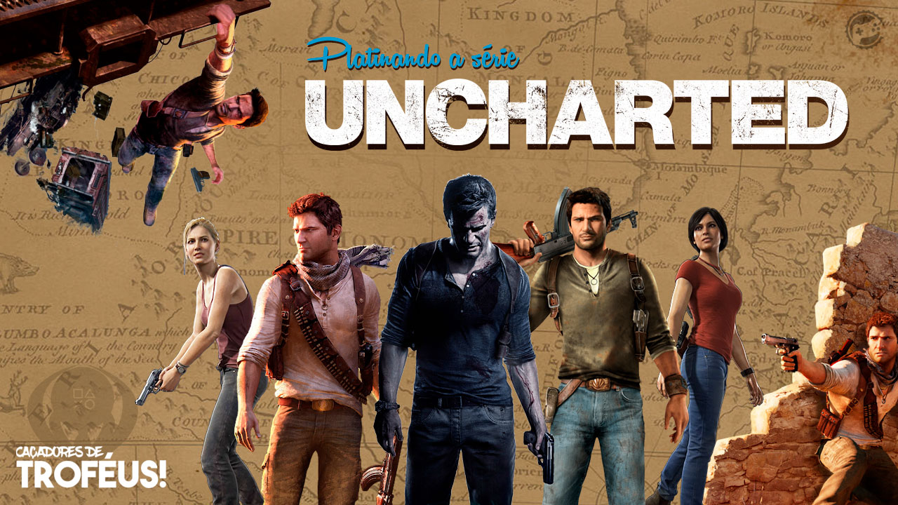 Platinando a série Uncharted! Cover